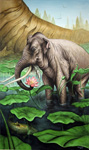 Elephant and Lotus